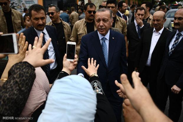 اردوغان: محصولات الکترونیکی آمریکا را تحریم می کنیم