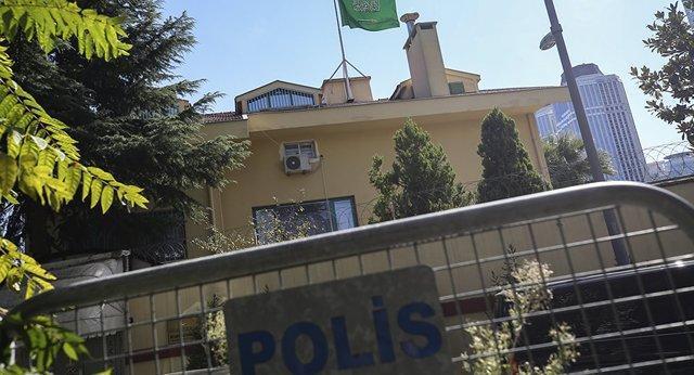 شروع عملیات تفتیش پلیس در کنسولگری عربستان در استانبول