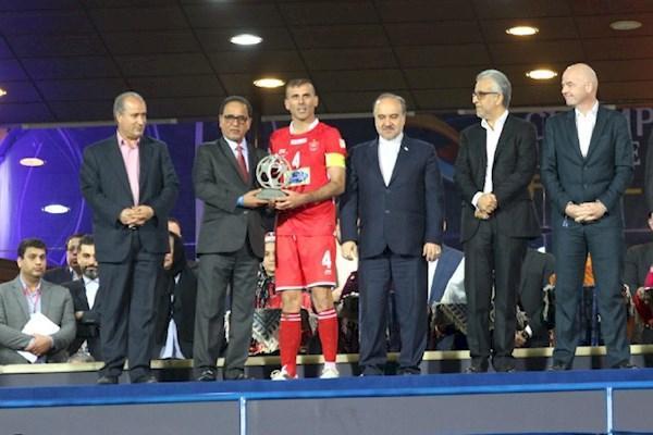 پاداش نایب قهرمانی آسیا، پشت سد تحریم ها