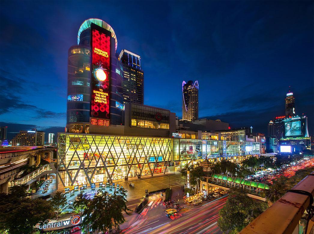 مرکز خرید سنترال ورلد پلازا بانکوک تایلند