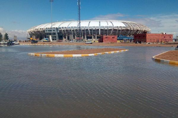 اعلام خسارت ورزشگاه های سیل زده به ای اف سی