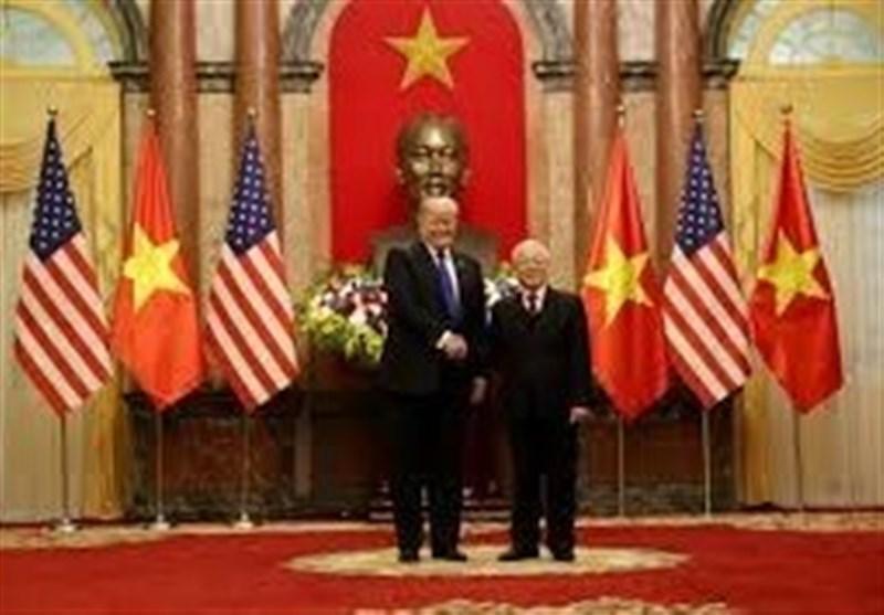 دیدار ترامپ با رئیس جمهور ویتنام پیش از نشست با رهبر کره شمالی