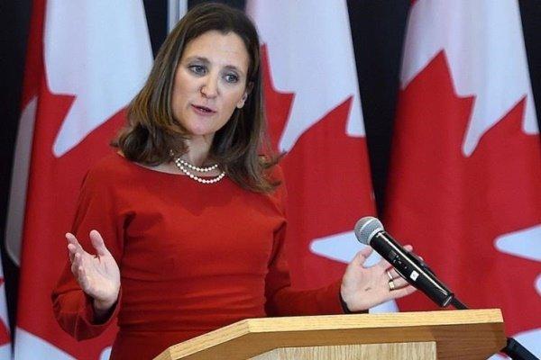 کانادا خواهان تشدید تحریم های ونزوئلا شد