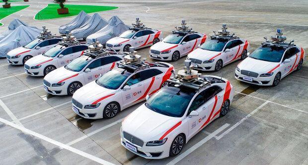 تاکسی خودران در شانگهای آزمایش می گردد