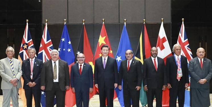 تغییر گرایش کشور-جزیره های اقیانوسیه از اتحاد با آمریکا به سمت چین