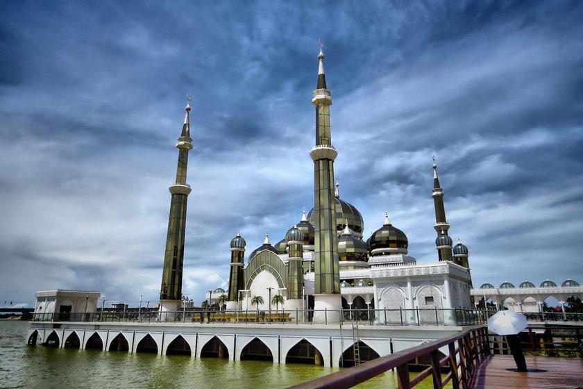 مسجد کریستالی، مالزی