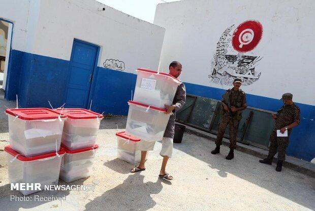 حمایت 3 نامزد انتخاباتی تونس از نامزدِ پیروز در دور نخست