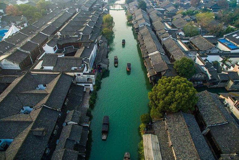 ووژن؛ شهر آبی باستانی چین
