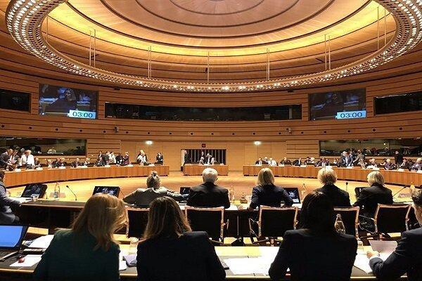 برگزاری نشست وزیران خارجه اتحادیه اروپا درباره عملیات چشمه صلح