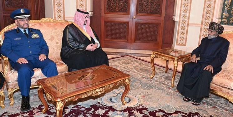 پسر پادشاه سعودی در عمان چه می نماید؟