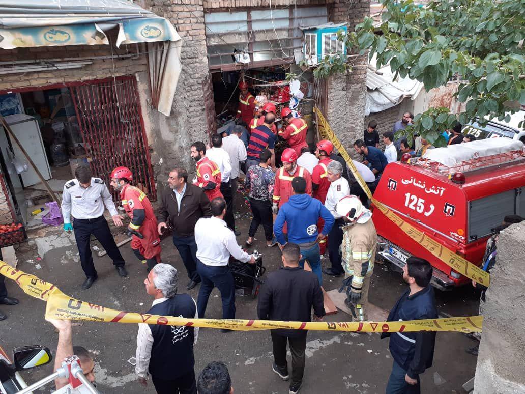 ریزش چاه در محله کن جان دو کودک را گرفت