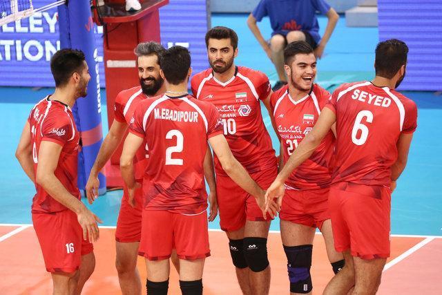 والیبال ایران با ترکیب جوان شده استرالیا را شکست داد، روسیه و برزیل شکست خورده های بزرگ روز دوم
