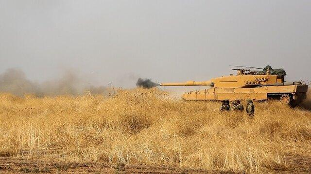 حملات ارتش ترکیه به پایگاه های کردها در شمال سوریه