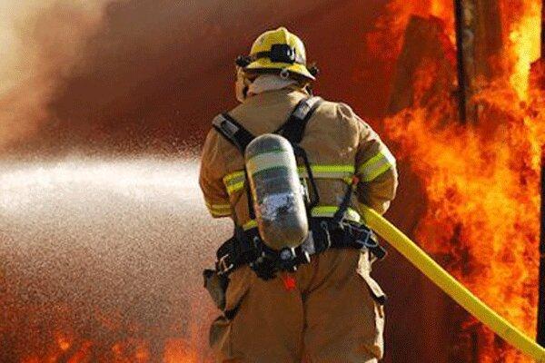 آتش دریافت منزل شهروند دهلرانی در اثر نشت بخاری نفتی