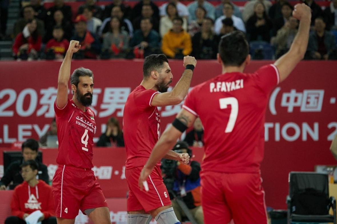 ساز های چینی به احترام ایران نواخته شد، صعود مقتدرانه یوز ها به المپیک
