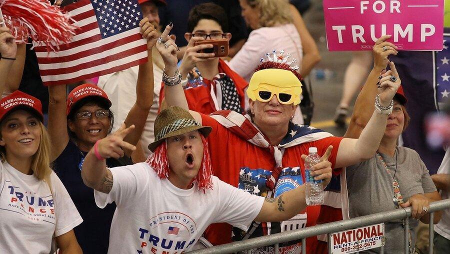 لباس های هواداران ترامپ