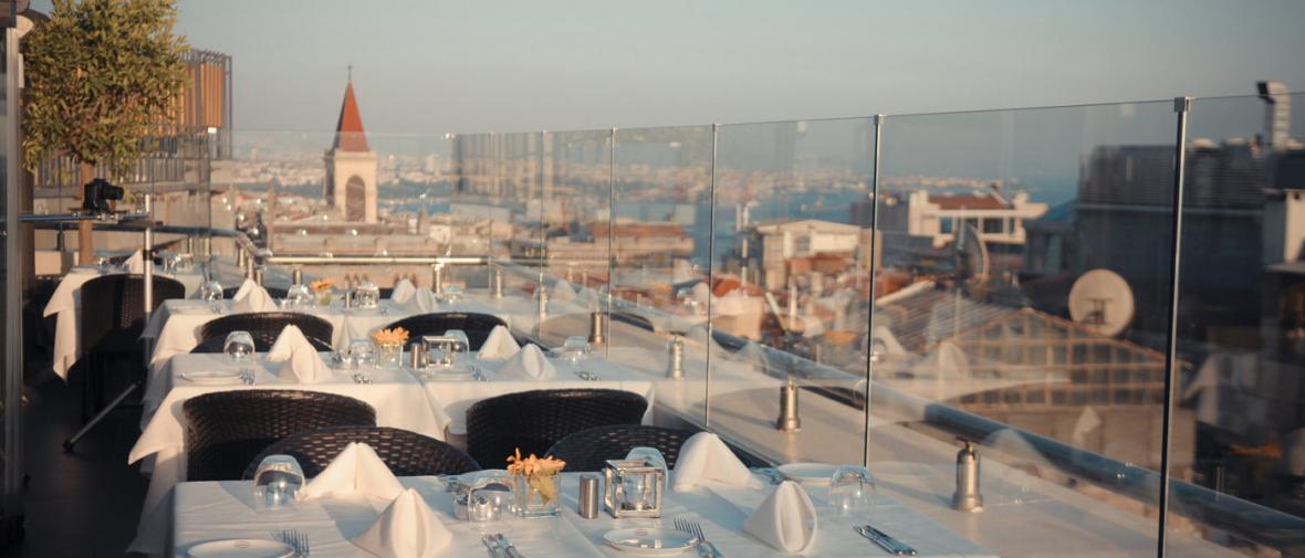 لوکس ترین رستوران های استانبول