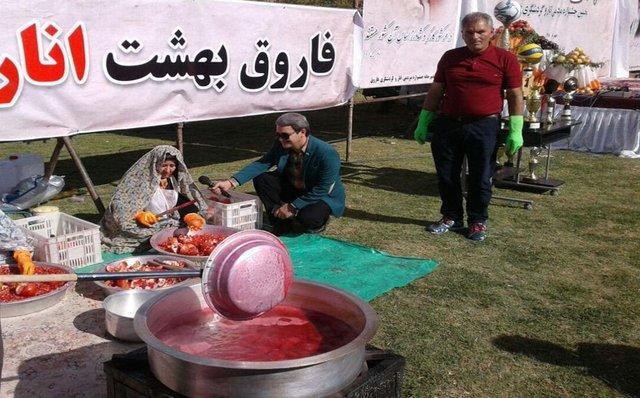 برگزاری نخستین جشنواره انار و گردشگری فاروق در فارس