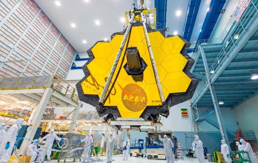 تلسکوپ جیمز وب طبق برنامه در سال 2021 به فضا پرتاب می گردد