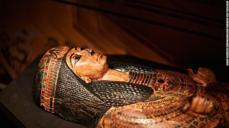 صدای کاهن مومیایی شده 3 هزار ساله مصری، دوباره شنیده شد!