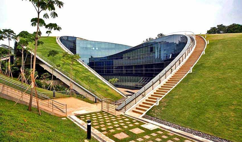 دانشگاه هنر شهر تانیانگ؛ ساختمانی که نفس می کشد