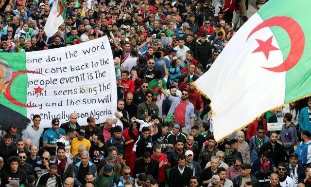 تظاهرات الجزایری ها 3 هفته لغو شد