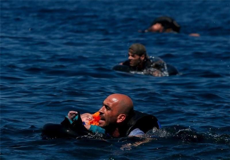 21 مهاجر در آب های ساحلی یونان غرق شدند