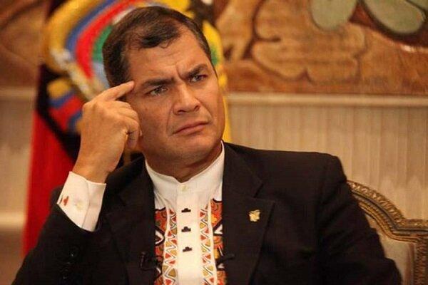 رافائل کوره آ رئیس جمهوری سابق اکوادور به 8 سال زندان محکوم شد