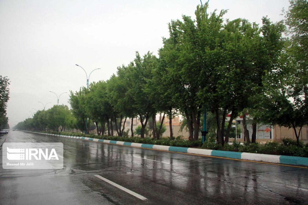 خبرنگاران افزون بر 100 میلی متر باران در کاکان منصور خانی کهگیلویه و بویراحمد بارید