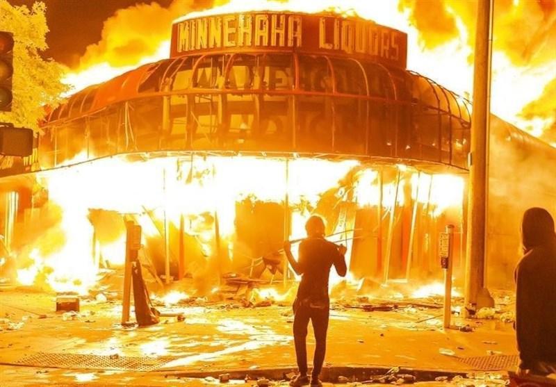 اعلام منع آمدو شد در شهر مینیاپولیس آمریکا