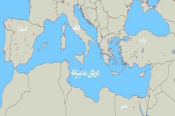 فرانسه مأموریت خود در مدیترانه را تعلیق کرد