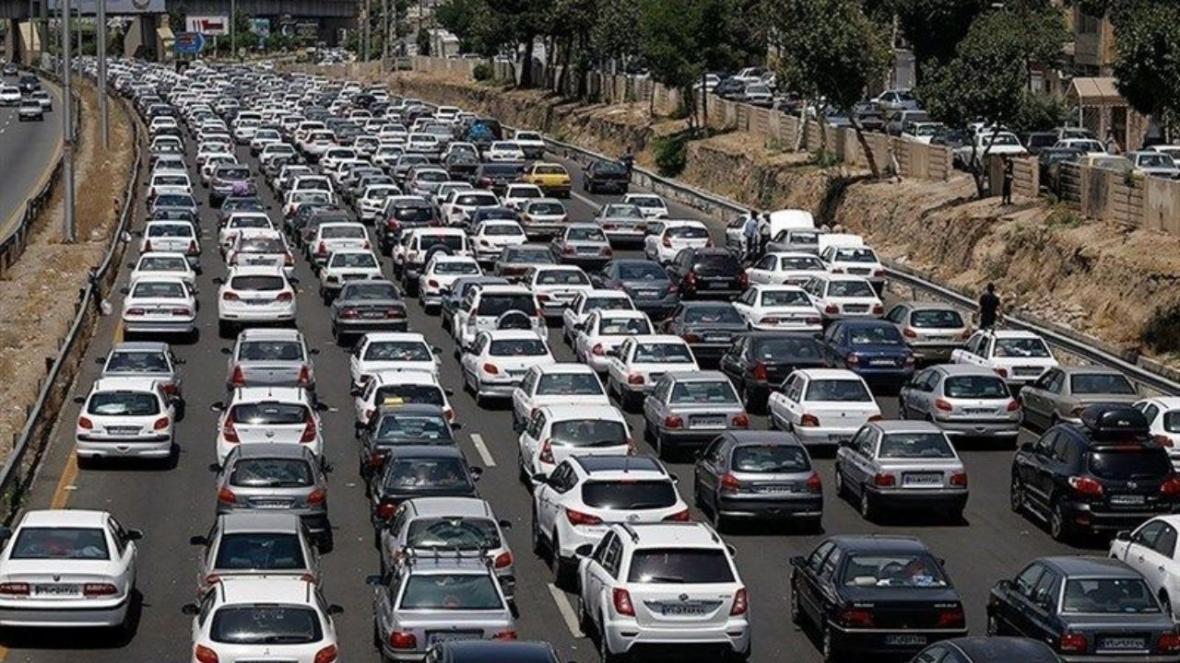 اعلام آخرین شرایط ترافیکی محور های مواصلاتی
