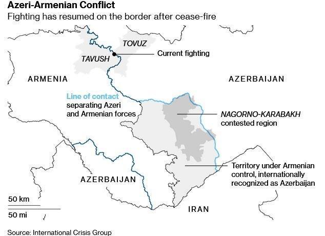 جمهوری آذربایجان: از مناطقی که آزاد کردیم عقب نمی نشینیم