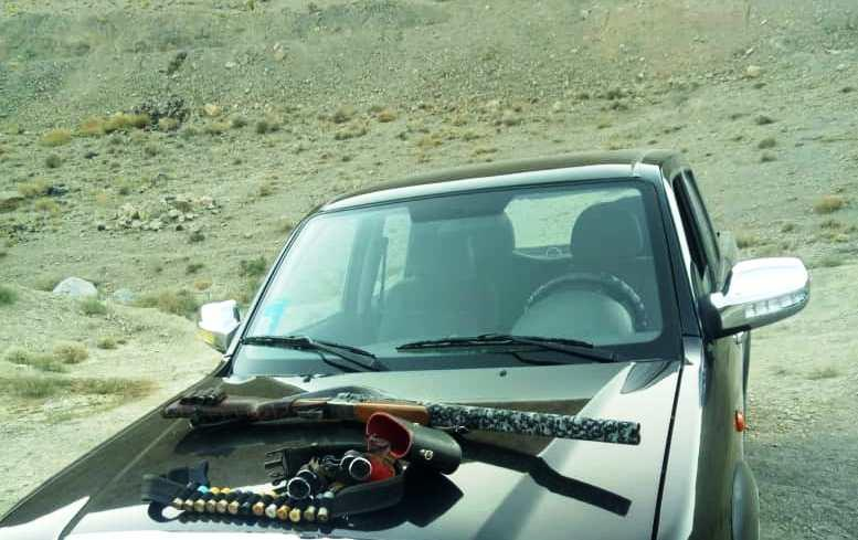 دستگیری چهار متخلف شکار و صید در شهرستان نجف آباد