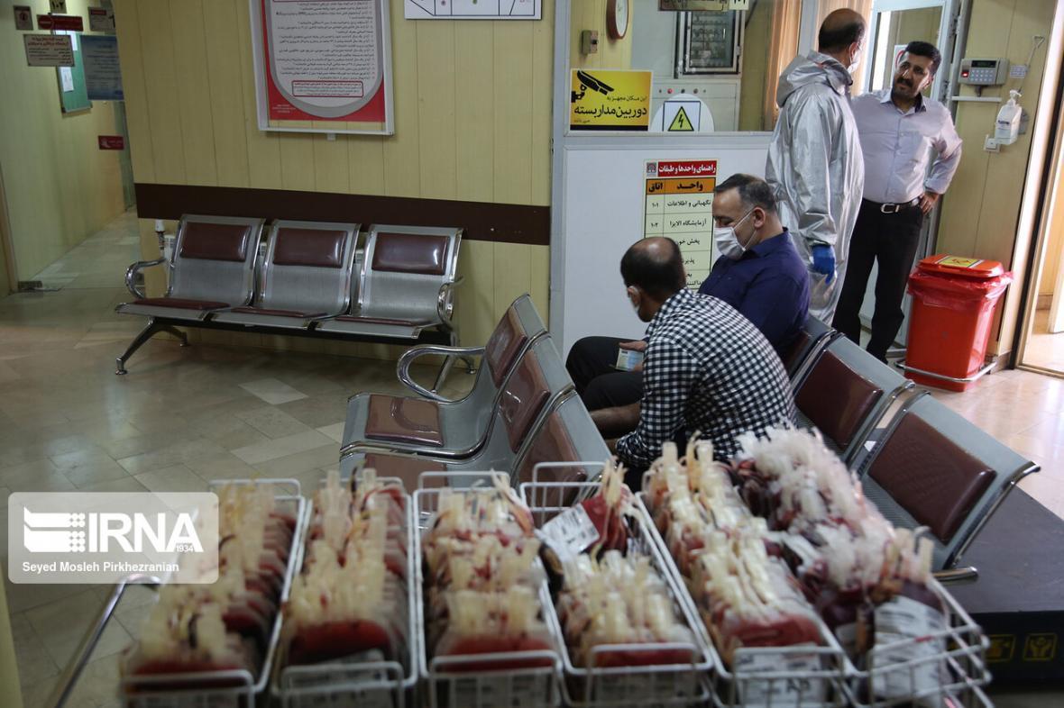 خبرنگاران مردم اهدای خون را در اولویت قرار دهند