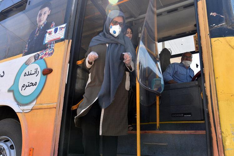 کاهش 200 هزارنفری مسافران اتوبوس