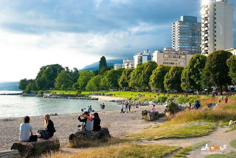 خلیج انگلیسی، گردشگاهی محبوب در بین اهالی ونکوور، عکس