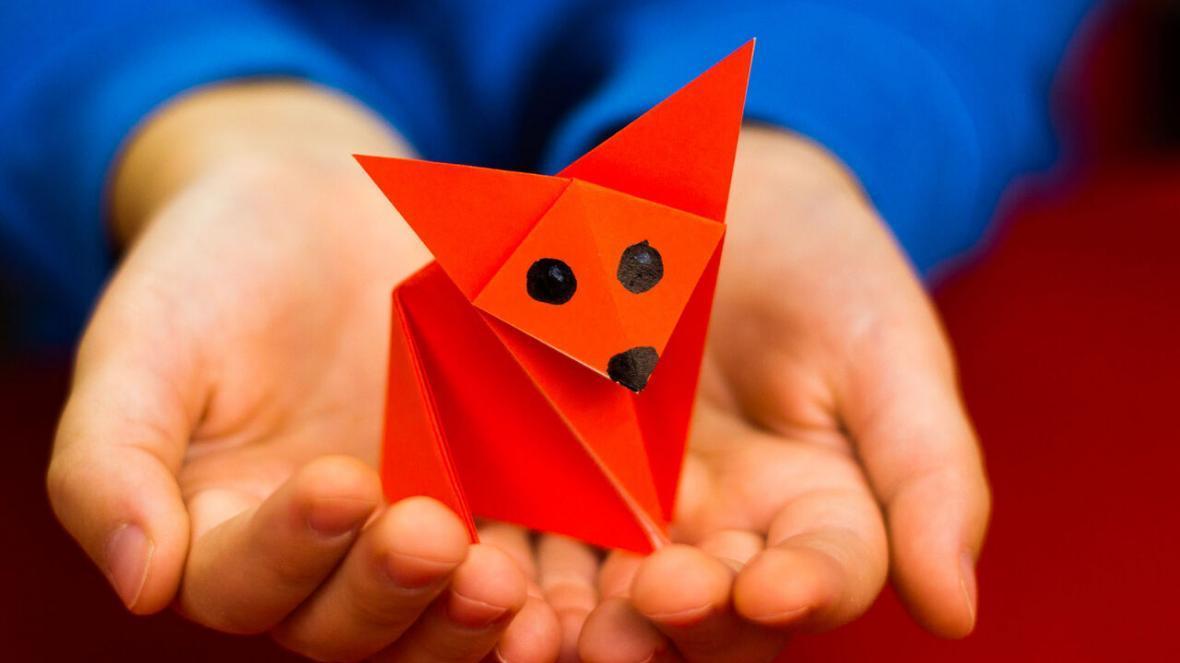 آموزش چند اوریگامی ساده برای سرگرم کردن بچه ها