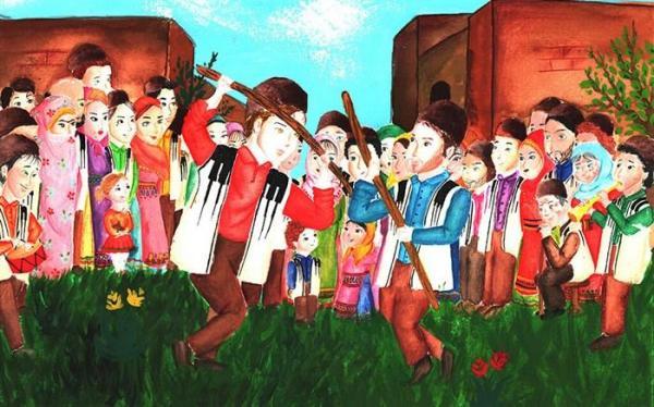 درخشش اعضای کانون در مسابقه نقاشی بازی&zwnjهای بومی&zwnjمحلی