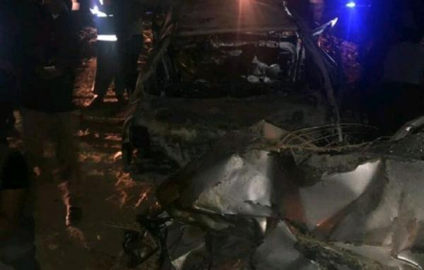 خبرنگاران تصادف در محور جیرفت به کهنوج 4 کشته برجا گذاشت