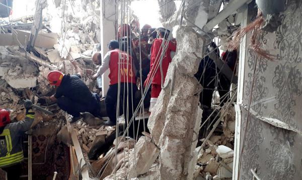 دو کشته در انفجار مهیب درکرج