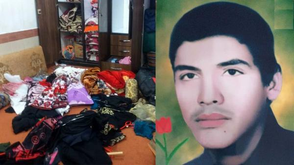 سرقت و ضرب و جرح مادر شهید انصاری