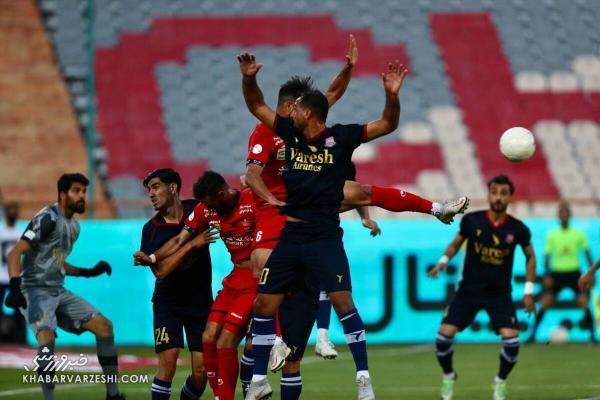 نیمکت پرستاره پرسپولیس در بازی امشب مقابل نساجی