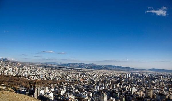 هوای تهران سالم است، احتمال افزایش غلظت آلاینده ها