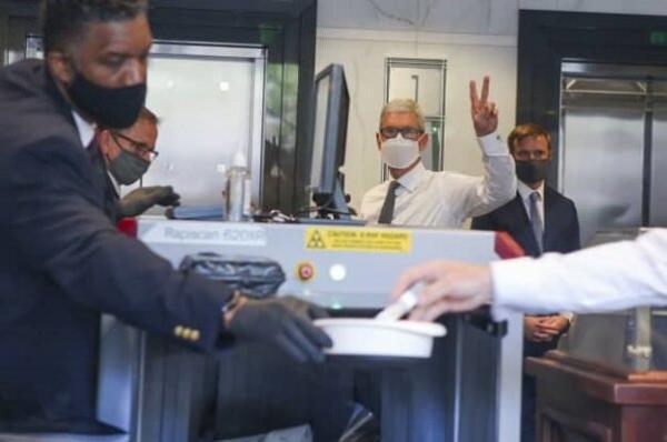 حضور رئیس اپل در دادگاه اپیک گیمز