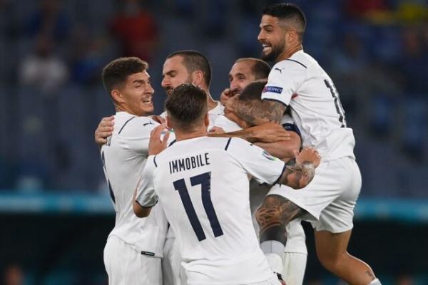 برد قاطع ایتالیا در افتتاحیه یورو 2020