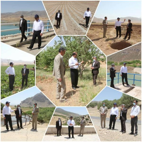 ممنوعیت پمپاژ آب به اراضی دیم