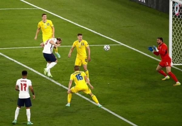 یورو 2020، فزونی آماری انگلیس در جدال با اوکراین، آخرین ملاقات یک چهارم نهایی کارت نداشت