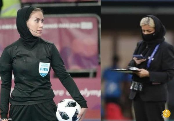 2 زن ایرانی در جام جهانی آقایان