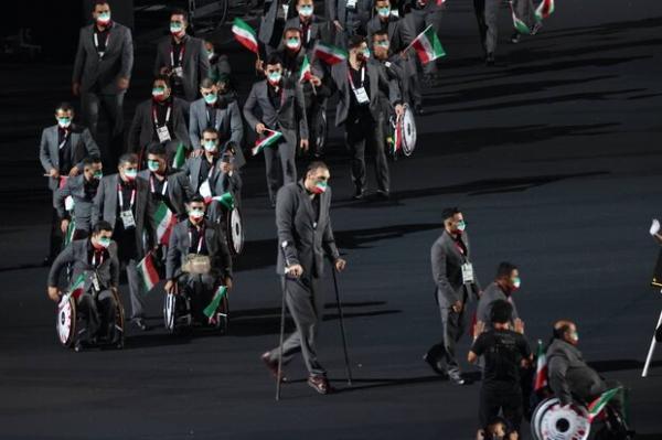 ساره جوانمردی پرچمدار ایران در اختتامیه پارالمپیک شد